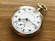 Used - Watch Pocket - Pocket Watch - 1 13/16in Diameter - Small Seconds