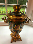 Russian Decorated Coffee Urn