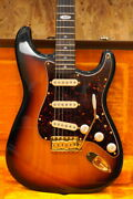 Used Fender 1997 Collectors Edition St Type Sunburst Free Shipping