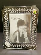 Waterford Lismore Crystal Photo Picture Frame 5x7 107750 New In Box