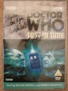 Lost In Time 1st 2nd Doctor Who Dvd Signed Anneke Wills Philip Anthony Kay + 4