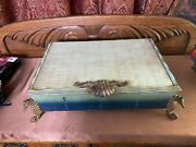 Rare Mid Century Romance Of The Sea Wallace Silversmiths Sterling Silver Chest