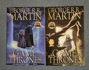 George R.r. Martin A Game Of Thrones. 7 And 8 Dynamite Comics 2011 Nice Copies.