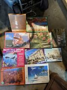 10 New Sealed Retro Jigsaw Puzzle Lot Dances With Whales Japanese Garden Scenary