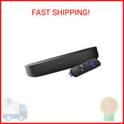 Roku Streambar | Hd/4k/hdr Streaming Media Player And Premium Audio, All In One, A