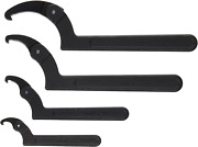 Williams Ws-474 4-piece Adjustable Hook Spanner Wrench Set Tools At Height 2 To