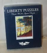 Liberty Wooden Jigsaw Puzzle Sails And Pine Trees Paul Signac 238 Pc Complete