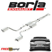 Borla S-type Cat-back Exhaust System Fits 2015-2021 Dodge Charger Rt 5.7l V8