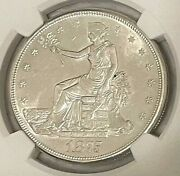 1875 S 1 Trade Silver Dollar Ngc Unc Details