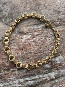 And Co. 14k Yellow Gold Russian Link Weave Bracelet - Rare