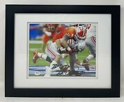 Clemson Tigers 11 Bryan Bresee Autographed Framed 8x10 Football Photo Psa/dna