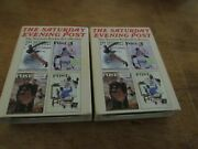 Zippo Lighter The Saturday Evening Post The Norman Rockwell Collection Lot Of 2