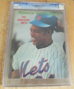 Willie Mays Sports Illustrated Cover May 22,1972 Newsstand Cgc 6.5