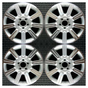 Set 2010 2011 2012 Lincoln Mkz Oem Factory 9h6z1007a Machined Wheels Rims 3805