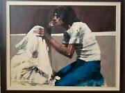 Aldo Luongo Authentic And Original Oil Painting On Canvas