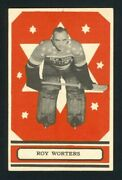 1933 V304 O-pee-chee Series A Roy Worters Em+ Perfectly Centered Hof Rookie Card