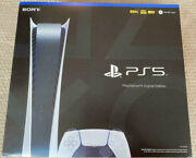 Sony Ps5 Digital Edition Console - White - Playstation 5 - New - Free Shipping