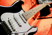 Fender Eric Clapton Stratocaster Blackie 2008 Electric Guitar With Hard Case