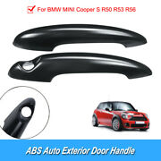2x High Quality Replaceable Car Door Handle Cover Trim For Bmw Mini Cooper S