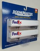Fedex Freight 53' Stoughton Trailer Ho 1/87 Scale Walthers Scenemaster 2452