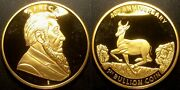 South Africa - 40andegraveme Anniversary - 1st Bullion Die Plated Gold