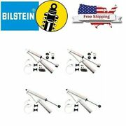 Bilstein Monotube Shock Absorbers Front/rear Set Of 4 For F250/f350 W/2.5 Lift