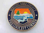 Ashe County Sheriff Office Sheriff B Phil Howell Challenge Coin