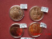 Usa 2013 4 Medals On Capsule .999 Fine Copper 1 Oz Uncirculated 40 Mm  845