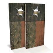 Texas Rustic State Flag Cornhole Boards - The Perfect Christmas Gift