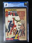 Amazing Spider-man Annual 1 Cgc .5 1st Appearance Sinister Six Mcu White Pages