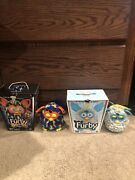 2012 Furby Grey And Teal And Furby Boom Lot Of 2 With Boxes For Both