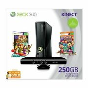 Xbox 360 250gb Holiday Value Bundle With Kinect + 17 Games