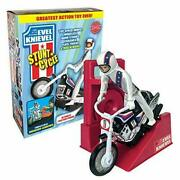Variant Limited Edition Evel Knievel Stunt Cycle Black Trail Bike 70and039s Daredevil