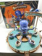 Lemax Spooky Town - Rare - Octo Squeeze Halloween Carnival Ride Oct-o-squeeze