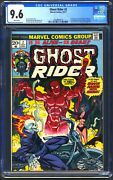 Ghost Rider 2 - Cgc 9.6 - White Pages - Nm+ 1st Full Son Of Satan - 1973