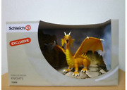 Super Rare Schleich Exclusive World Of History Knights And Gold Dragon Figure