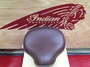 Indian Motorcycles - Scout - 1920 Solo Saddle- Brown P/n 2880905-05