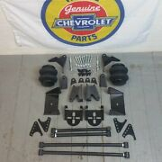 1937-48 Classic Chevy Gm Rear 4 Link Kit W/ 2600lb Air Ride Bags And Brackets