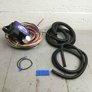 Wire Harness Fuse Block Upgrade Kit For 1968 - 1972 Chevrolet Street Rod Hot Rod
