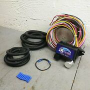 54-66 Buick 12v Wiring Harness System Update 12 Fuse Panel Block 350 Olds Super