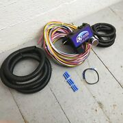 Wire Harness Fuse Block Upgrade Kit For 1967 - 1969 Chevrolet Camaro Street Rod
