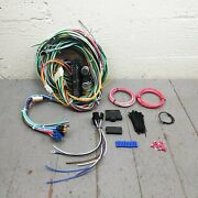 Compact Wire Dash Harness 12v Upgrade Kit Update Fits Ford 1966-1996 Bronco