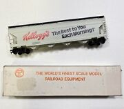 1979 Kellogs Vintage Collectibles Toy Railroad Equipment Track Scale Model Train