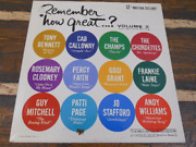 Remember How Great Volume 2 Collector's Series Vintage Vinyl Record Lp 1962