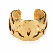 Vintage Cc Metalesse 1994 Spring Collection Gold Plated Cuff
