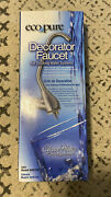 Eco Pure Decorator Faucet For Drinking Water-satin Finish-new Whefsat