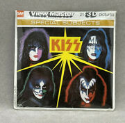 Kiss 3d View-master Packet No. K 71 Rare New Sealed Dead Stock New Old Stock