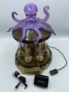 Rare Retired Lemax Spooky Town 2011 Octo-swing Halloween Carnival Ride W/ Box