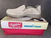 Nib Relaxed Living Chillax Sketchers Slip On Sneakers Size 7 Women's,