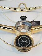 1964 Chevrolet Impala 24kt Gold Plated Horn Ring And Gold Button